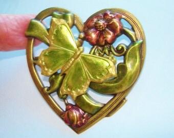 Butterfly Rhinestone Jewelry Brooch