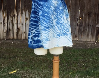 Organic Indigo Dyed Girls Top