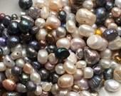 Fresh water pearls - mixed bag