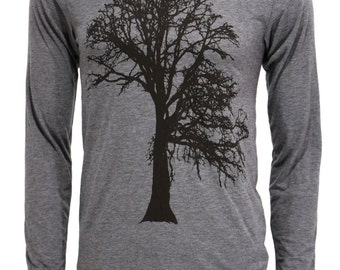 Oak Tree | Long Sleeve T Shirt | Soft lightweight | Father's day gift