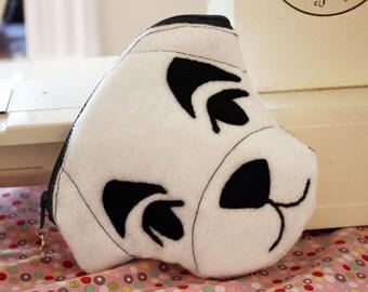 K.K. Slider Animal Crossing inspired Dog zipper pouch