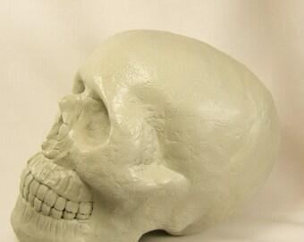 DIY Skull Horror Prop