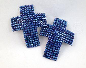 Cross Crucifix Rhinestone Nipple Pasties - SugarKitty Couture
