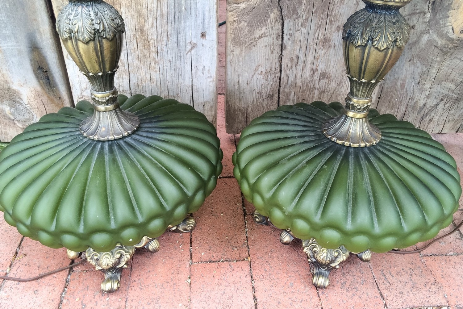 Reserved For B Pair Vintage 1960s Hollywood Regency