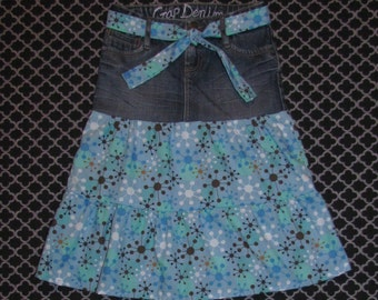 Girls Ruffle Skirt Size 6