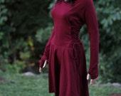 Party dress /Women's Maxi Dresses / High Low Dress / Low High Dress / Hoodies for Women /Hoodies  /  Lace Up Dress / Casual Dresses