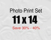 11x14 Prints, Set of Photos, 11x14 Print Set, Save up to 40%