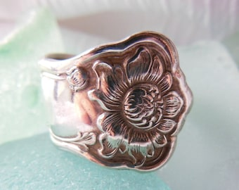 Antique Spoon Ring    Size 8