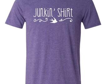 Junkin' Shirt T-shirt - vintage, junkin, pickers, thrifting, junk shirt