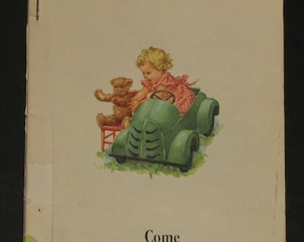 1951 The New We Come and Go - Dick and Jane pre-primer