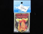 Carlsbad Caverns Patch- Vintage 70s Voyager Patch- New Mexico Sew On Patch- Vintage Patch Applique- Travel Souvenir- Deadstock New Old Stock