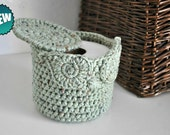 Owl Toilet Tissue Basket Bathroom Decoration Spare Roll Holder Rustic Green Home Decor Custom Colors