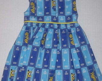 """Minions Despicable me dress fits 18"""" American girl doll"""