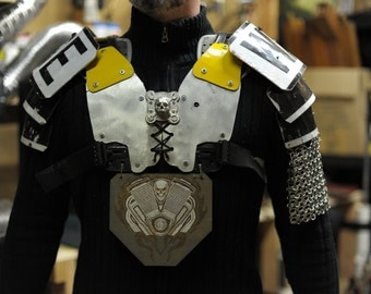 Traffic Sign Armor Breastplate