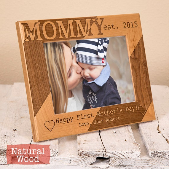 Personalized Mothers Day Gift Happy First Mothers Day Picture