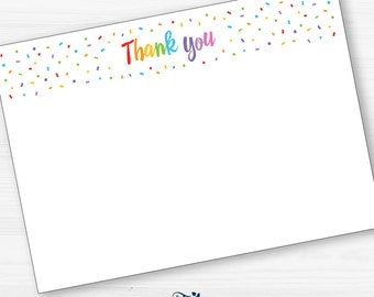 Thank you template | Etsy