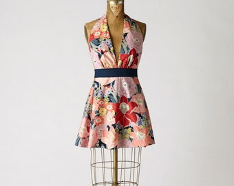 Sexy Women's Apron Marilyn Floral