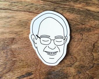 Bernie Sanders Sticker - 2016 Elections Vinyl Stickers