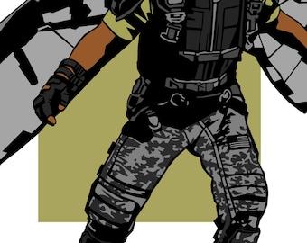 Winter Soldier Falcon
