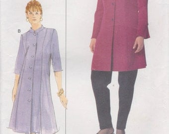 Dress Pattern Tunic Pants Women's Size 14w - 18w Bust 36 - 40 Uncut Vogue Plus 7121
