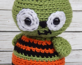 Amigurumi Halloween Zombie Goblin