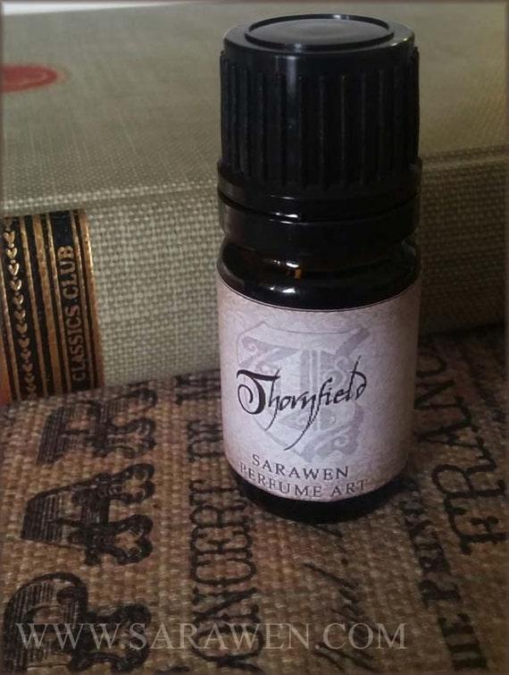 THORNFIELD Jane Eyre Perfume Oil / Woods Lavender & Labdanum / Vegan Perfume / Victorian Perfume oil