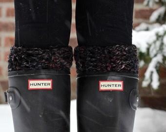 The Knee-High Ipswich Boot Cuffs - BLACKSTONE