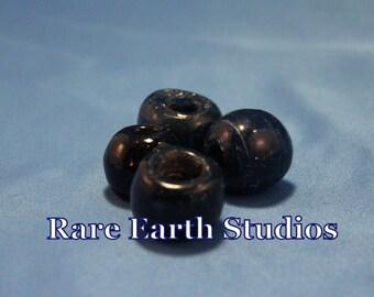 Vintage Dark Blue Glass Beads Assorted pack 60516069