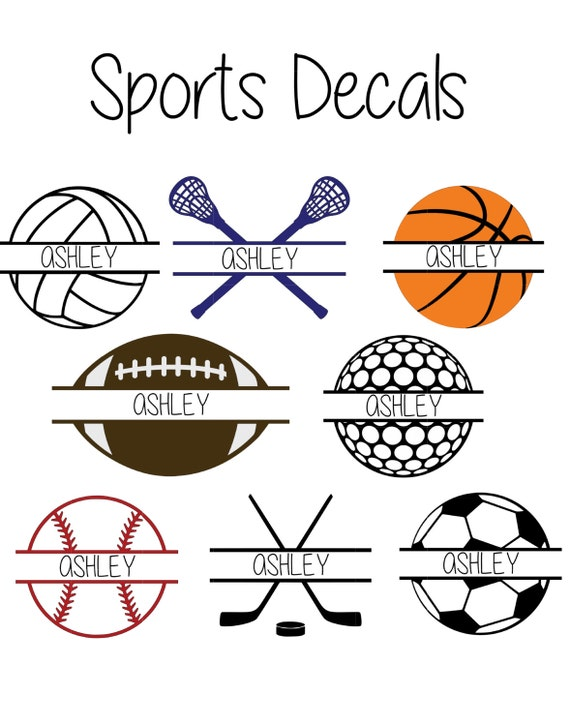 Sports Shirts Vinyl Designs Lacrosse