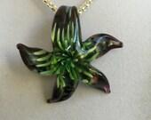 Italian Glass  Starfish Necklace