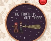 X-files - The truth is out there - PDF cross stitch pattern