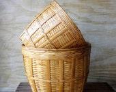 Simple Vintage  Basket