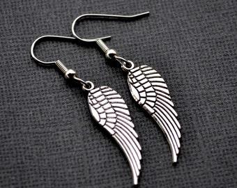 Silver Wings . Earrings