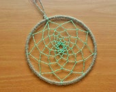 Dream Catcher Web Hoop, Decorate Your Own Dream Catcher, 5 inch DIY Dreamcatcher Starter Hoop