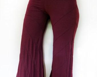 Stretch Gypsy Pants with Adjustable Hem - Hooping, Dance, Yoga, Tribal, Bellydance, Festival clothing