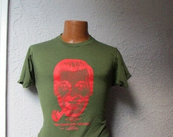 Vintage 1982 Church of the Subgenius Punk T Shirt original