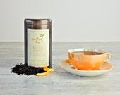 Earl Grey Français Black Tea • 4 oz. Tin • Luxury Loose Leaf Blend with French Oil of Bergamot