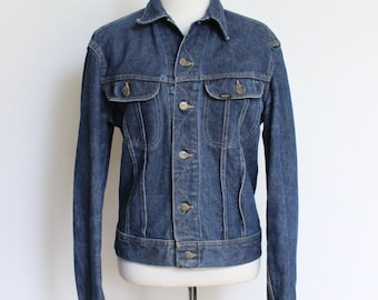 SALE Vintage Denim Jacket // Lee Jean Jacket // Mens Medium