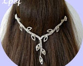 Hair Chain Head Chain Hair Jewelry Head Jewelry Headpiece Head Jewelry Chain Bridal Hair Chain Wedding Head Chain - DL