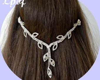 SALE - Hair Chain Head Chain Hair Jewelry Head Jewelry Headpiece Head Jewelry Chain Bridal Hair Chain Wedding Head Chain - DL