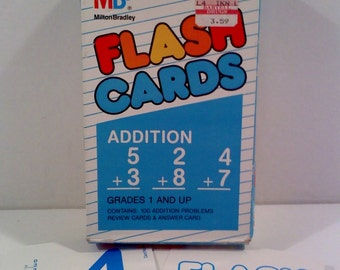 Vintage Flashcards- Addition