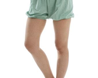 RTBU Iyengar Yoga/Pole Dance Pilates Cotton Bloomer Bubble Shorts Pastel Green