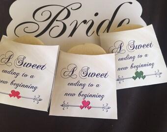 Cookie Sleeve, Wedding Cookie package, wedding cookie bags, cookie bags, wedding favors, party favors, bag favors, wedding,  Set of 25
