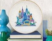 Pretty Little New York : Satsuma Street Jody Rice NYC Manhattan counted cross stitch patterns embroidery