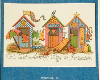 Counted Cross Stitch Pattern ANOTHER DAY In PARADISE By Diane Arthurs For Imaginating