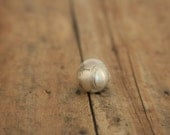 Baseball Pin Softball Lapel Pin Sterling - made with a vintage button