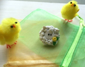 Adorable Easter Brooches