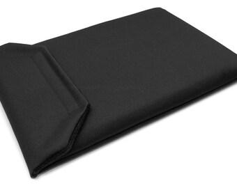MacBook Sleeve 12 inch - Water Resistant Black Canvas