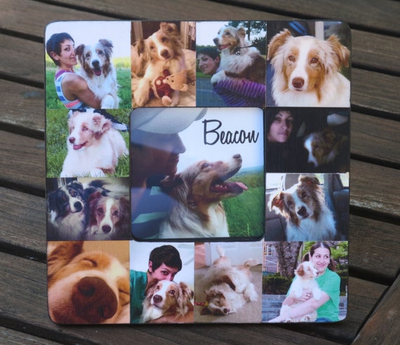 Pet Memorial Frame Pet Collage Picture Frame Custom Cat