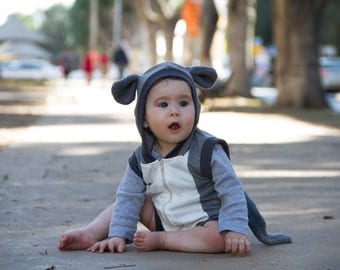 Mouse play suit / summer costume / baby costume / kids costume / infant costume